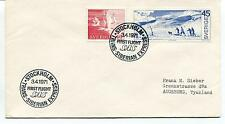 1971 First Flight SAS Trans Siberian Express Stockholm Polar Antarctic Cover