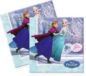 Disney Frozen Die Eiskonigin Servietten Party Geburtstag Elsa Anna