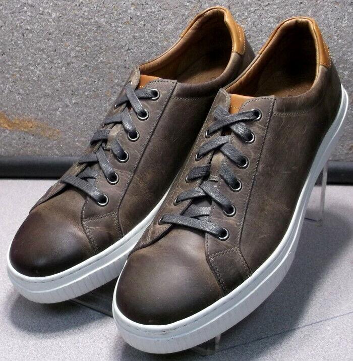 271799 ES50 Chaussures Hommes Taille 11 M marron en cuir à lacets Johnston & Murphy