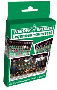 LEGENDEN-QUARTETT-SPIEL-KARTEN-SV-WERDER-BREMEN-NEU