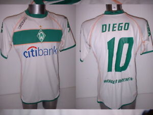premium selection 2d5bf 76183 Details about Werder Bremen Shirt Diego Jersey Trikot Kappa Medium Football  Soccer Vintage Top
