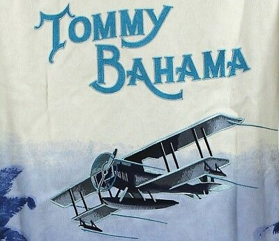 Tommy Bahama Red Rum-Pony Taupe 100/% Silk Panel Back Shirt $138