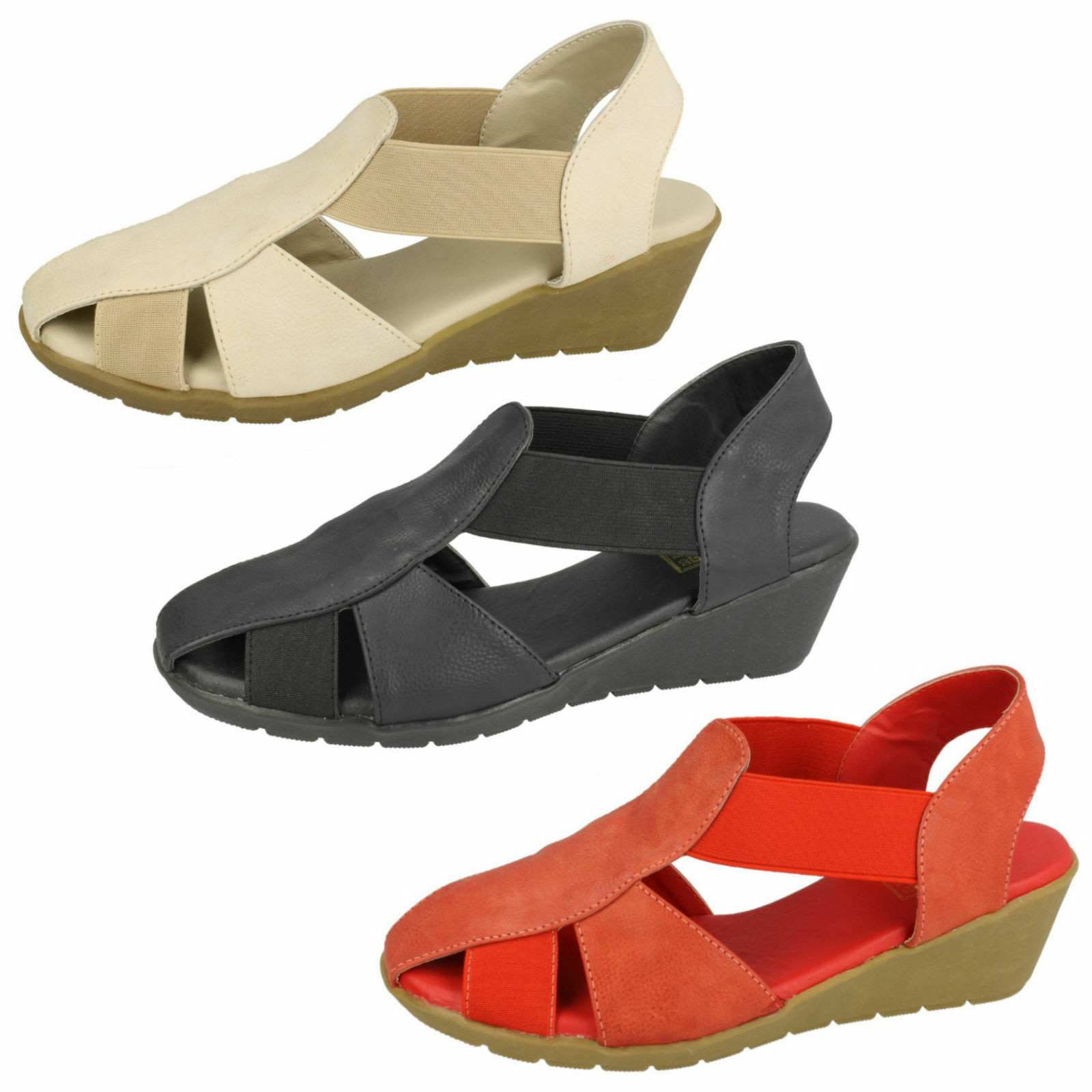 DOWN TO EARTH LADIES TOE F1R0428 IN SLING BACK SANDAL F1R0428 TOE db64dc