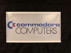 Commodore-Computers-20-x35-5-Banner-Dealer-Sign-Replica-64-128-Amiga