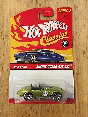 Hot Wheels Shelby Cobra 427 S//C Racing Loose Car Malaysia Base