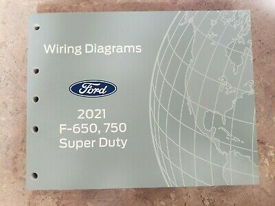 2021 OFFICIAL FORD F-650, F-750 SUPER DUTY WIRING DIAGRAM SERVICE MANUAL    eBay   Ford F650 Wiring Diagram      eBay