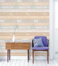 Oak Wood Panel Contact Paper Decorative Cabinet Self Adhesive Wallpaper Sticker