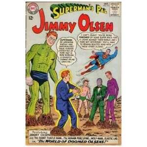 Superman-039-s-Pal-Jimmy-Olsen-1954-series-72-in-VG-minus-cond-DC-comics-el