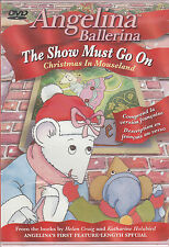 Angelina Ballerina - The Show Must Go On (DVD) Christmas in Mouseland