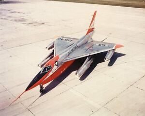 CONVAIR-B-58-HUSTLER-ON-THE-RAMP-8x10-SILVER-HALIDE-PHOTO-PRINT