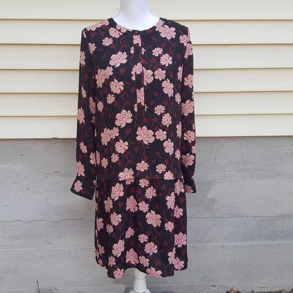 The Limited Lotus Printed Dress Size Medium Retail  99