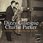 Town Hall, New York City, June 22, 1945 by Dizzy Gillespie (CD, Jun-2005, Uptown Records (Jazz))