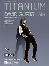 Titanium Sheet Music Piano Vocal David Guetta Sia NEW 000113169