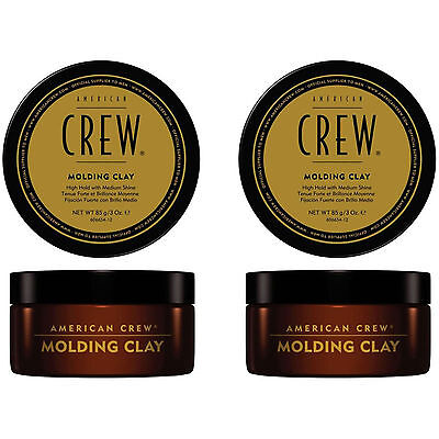 American Crew Molding Clay Hair Styling 85 gr, 2 pezzi