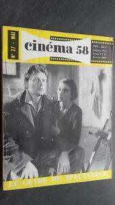 Rivista per Lettera Cinema N°27 Mai 1958 ABE