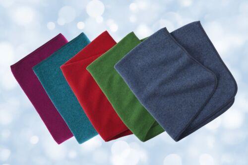 en belles couleurs automne bord tablier de pont Ange nature babydecke 80 x 100 cm 100/% laine vierge