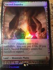 FOIL  Sacred Foundry  - ZENDIKAR EXPEDITIONS -  englisch (n-mint +) * Full Art *