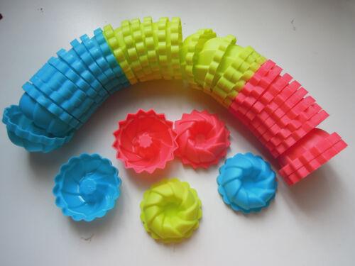 12 pcs Mini Bundt  mould mold Puteri Ayu Kuih Puteri Kue Putu Ayu mould