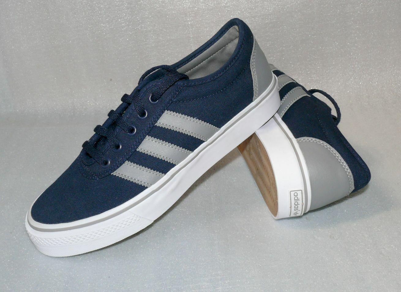 Adidas F37311 ADI EASE Canvas Herren Schuhe Sport Running Turnschuhe 40 - 46 Navy W