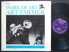 ART FARMER Work Of Art LP NEW JAZZ NJLP 8278 Orig US 1965 RVG MONO Horace Silver