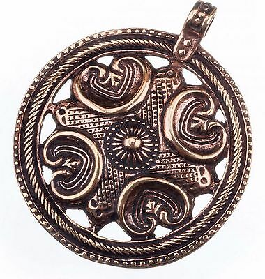 Billiger Preis Tolles Massives Großes Wikinger Amulett Aus Bronze 4 Elemente Anhänger Rus 503