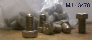 Lot-of-18-Stainless-Steel-or-Bolts