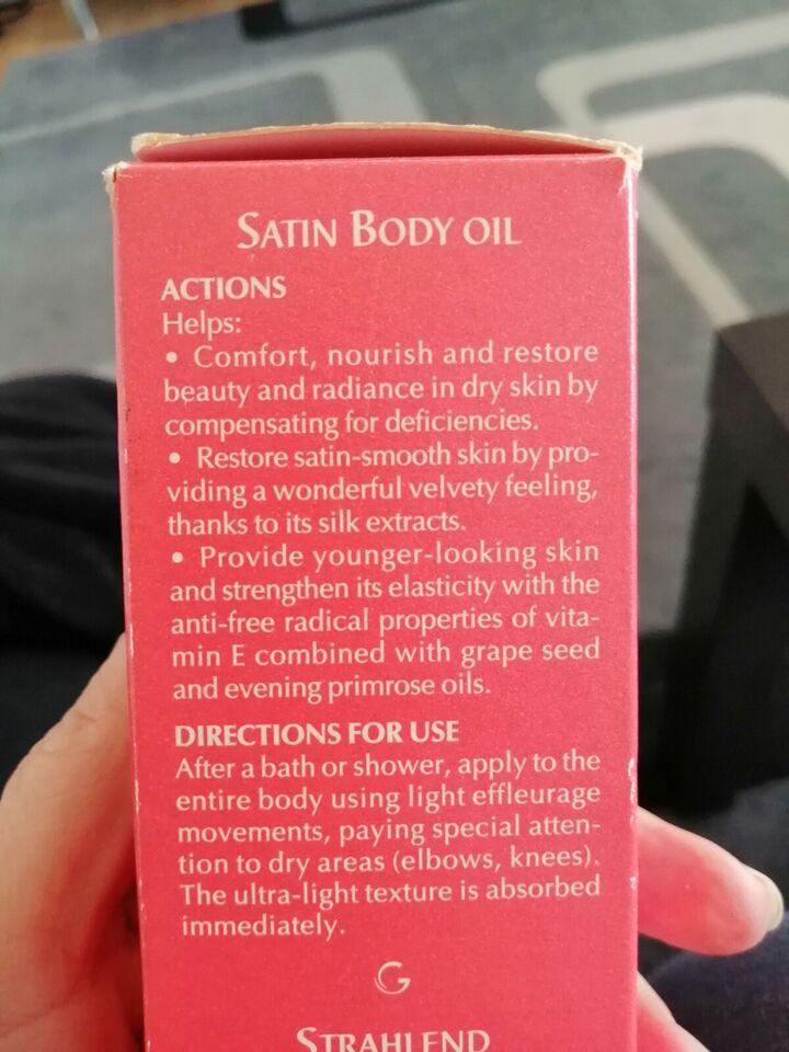 Hudpleje, Body oil, Guinot