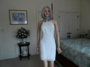 New-Kate-Hudson-For-Ann-Taylor-Ivory-Sheath-Dress-Size-0