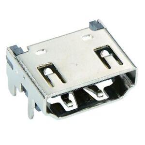 HDMI Right Angle 90 Degree PCB Female Socket Connector 19-Way