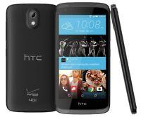 Htc Desire 526 Verizon Prepaid 8gb Stealth Black Android Smartphone