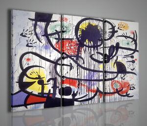 Quadri moderni joan miro iv arredamento casa quadro pittori famosi arredare ebay - Quadri per arredare casa ...