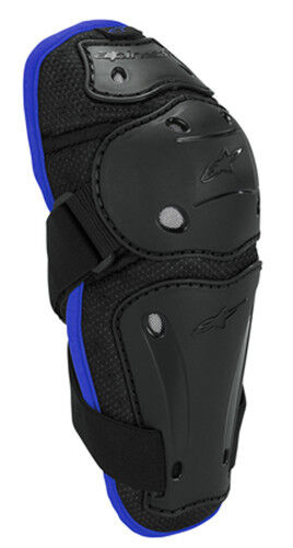 Alpinestars AYC Adult Offroad ATV Motocross Dirt Reflex Elbow Guard SM//MD Blue