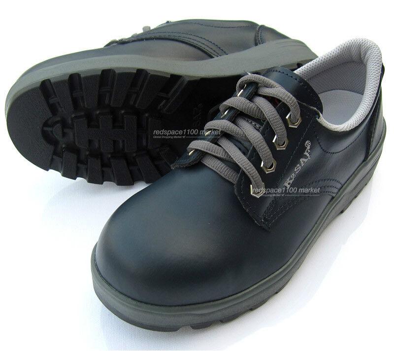 New K2SAF Navy Safety Work shoes Steel Toe Cap work oil resistant Non-Slip