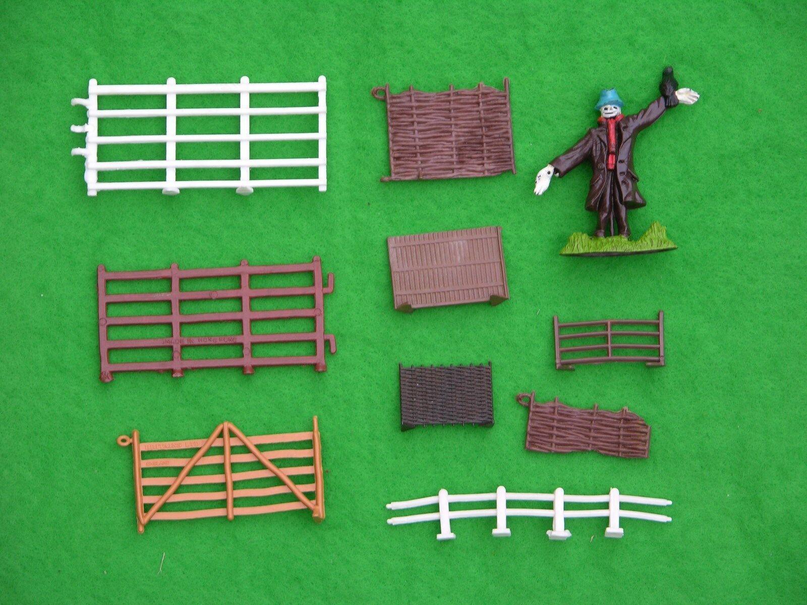 BRITAINS FARM, FARMYARD FENCING MULTI-LISTING