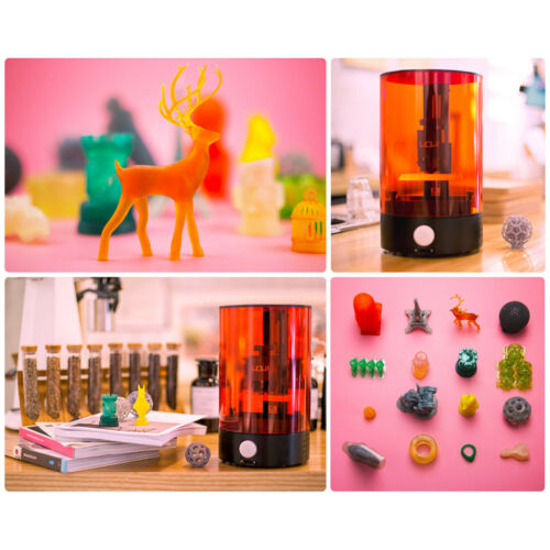 SLA 3D Printer SparkMaker UV Resin Light-Curing DIY Desktop Affordable Off-line