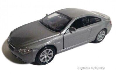 OVP blaumetallic 1:34 ca Auto-Club // Welly Rückzugsmotor BMW 645 Ci Coupé