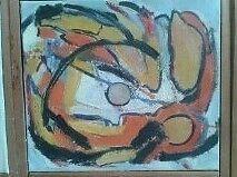Akrylmaleri, Carsten Rütting Schweitz, motiv: Abstrakt