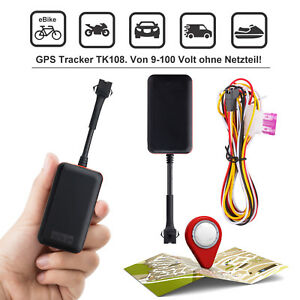 tracker tk108 gps sender ortung peilsender auto bus ebike. Black Bedroom Furniture Sets. Home Design Ideas