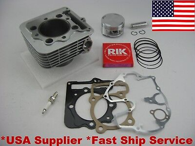 Bore Cylinder Piston Gasket Rebuild Kit 85mm Honda TRX 400EX 400X Std
