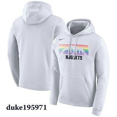 Denver Nuggets Nikola Jokic Joker Logo Hooded Sweatshirt