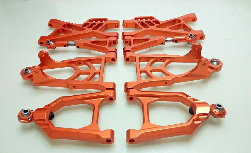 CNC tuttioy suspension arm davanti rear Set for 1  5 hpi baja 5b parts km rovan 8pcs  all'ingrosso economico e di alta qualità