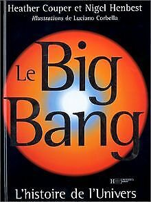 Astronomie-le-big-bang-de-Heather-Couper-Livre-etat-bon