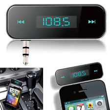CAR WIRELESS MP3 FM RADIO TRANSMITTER HANDS FREE HTC M8 Iphone 6 5 Xperia S5