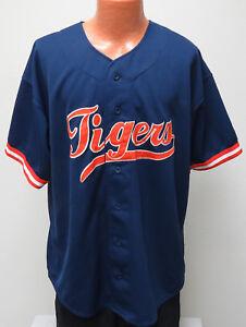 vtg-JUSTIN-THOMPSON-Detroit-Tigers-Jersey-XL-STARTER-90s-mlb-sewn-throwback-22