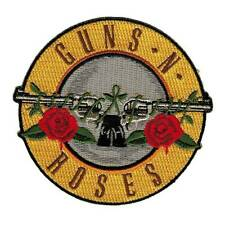 GUNS N ROSES SLASH SEW ON AXL ROSE EMBROIDERED AND OFFICIAL PATCH NEW RARE