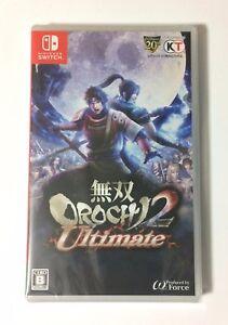 NEW-Nintendo-Switch-Musou-OROCHI-2-Ultimate-JAPAN-import-Japanese-game