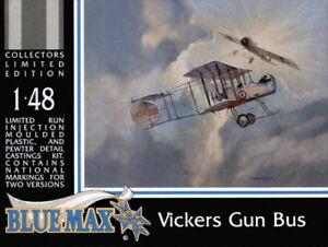 WW1 Kit BLUE MAX KITS 1//48 n° 207 Avion de chasse Britannique VICKERS F.B.5.
