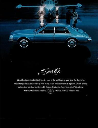 1983 Cadillac Factory Brochure-14 pages-Seville Eldorado Devilles Fleetwood