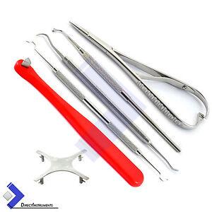Dental Orthodontic Matheiu Needle Holder Forceps Ligature Director Star Gauge 732059935285