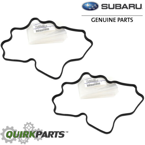 90-98 Subaru Rocker Valve Cover Gasket SET x2 Impreza Legacy OEM NEW 13294AA012